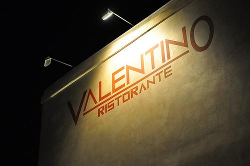 valentino entrance